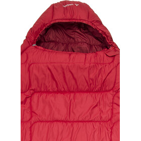 VAUDE Sioux 1000 Syn Schlafsack dark indian red